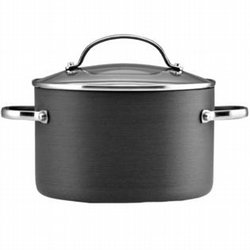 Kitchenaid 4 Qt Hard-Anodized Covered Saucepot