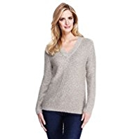 M&S Collection Metallic Jumper