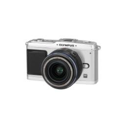 Olympus Pen E-P1 Compact System Camera (14-42mm Silver Lens Kit) - Silver