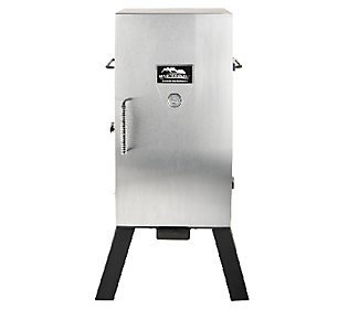 Masterbuilt 3 Rack Electric Smoker With Stainless Steel Door & Cover
