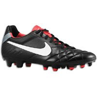 Nike Tiempo Legend IV Firm Ground Football Boots - 9 - Black