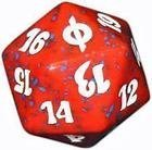 MTG Magic the Gathering New Phryexia Red and White Spin Down Counter NEW Die - 1
