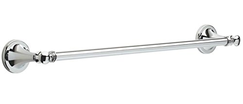 Delta 132887 Silverton Bath Hardware Accessory 18 Towel Bar Polished Chrome Accessories