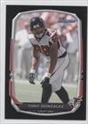 Tony Gonzalez Atlanta Falcons (Football Card) 2013 Bowman Black #81
