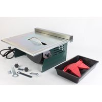 """7"""" Electric Tile Cutter Wet Dry 1100W Heavy Duty Marble Stone Brick Cutter"""