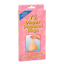 Diaper Sacks Bags (Scented to Neutralized Odors) 75 Count