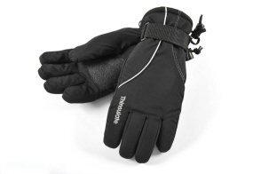 Childs Ski Gloves, Black, Age 5/7