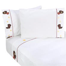 Cowboy Baby Bedding 5156 back