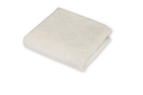 American Baby Company Heavenly Soft Chenille Bassinet Sheet - Ecru
