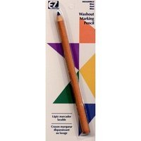 Pencil Washout Quilting Blue (6 Pack)