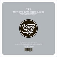 Vinyl-Styl-72261-Protective-Outer-Record-Sleeves-50-Pack