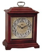 Hermle Ashland Table/Mantel Clock in Cherry with Quartz Movement Sku# 22825N92114