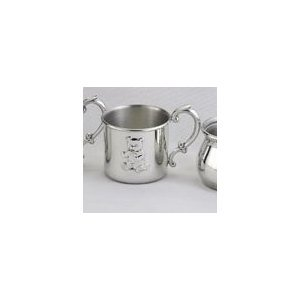 Empire Pewter Teddy Bear Baby Cup - 1