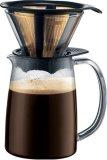bodum DRIPPER コーヒーメーカー ゴールドトーンフィルター付き 1.0L K10698-01