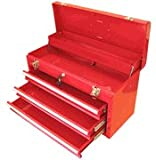 3-Drawer Portable Metal Toolbox - TB-133
