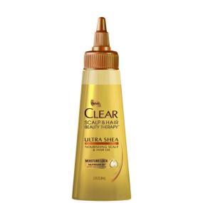 Clear Scalp & Hair Beauty Therapy Ultra Shea Nourishing Scalp & Hair Oil, 3 Fluid Ounces