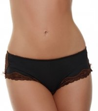 Whimsy by Lunaire Aruba Micro with Lace Brief Panty