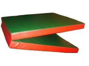 tapis de gymnastique enfants matelas de sport en mousse pais vert rouge pliable 2mx80cmx8cm. Black Bedroom Furniture Sets. Home Design Ideas