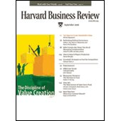 Harvard Business Review, September 2006 Periodical