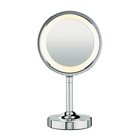 Conair BE15 Double-Sided Round Mirror, Chrome