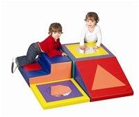 Children's Factory Shape & Play Climber CF322-389