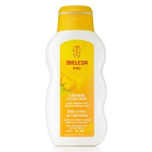 Weleda Calendula Cream Bath, 6.8-ounce Body Wash Skin Care Clean Infant Bodywash Baby Bathe