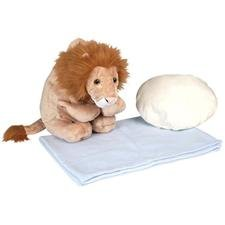Lion Blanket Pillow Buddy Plush Stuffed Animal