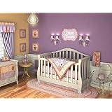 DK Leigh Crib Nursery Bedding Set, Distinctive Cupcake Baby, 10 Piece