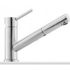 Franke Taros Kitchen Sink Mixer Tap with pull-out spray, Stainless Steel