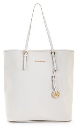Michael Michael Kors Tote Jet Set Travel Optic White