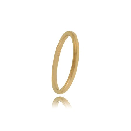 Babies First Ring in 10K Yellow Gold – Solid Basic Band