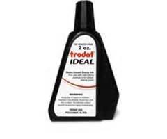 New Black 2oz Trodat Ideal self inking stamp refill