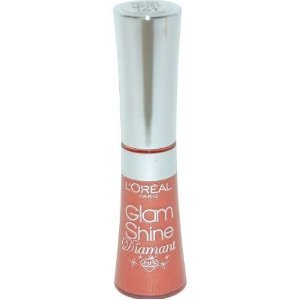 L'Oreal Glam Shine Diamant Lip Gloss in shade 161 Amber Carat