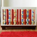 Go Mama Go Designs 38 Piece Wonder Bumpers Safe Sleep Set, Rainbow Love - 1