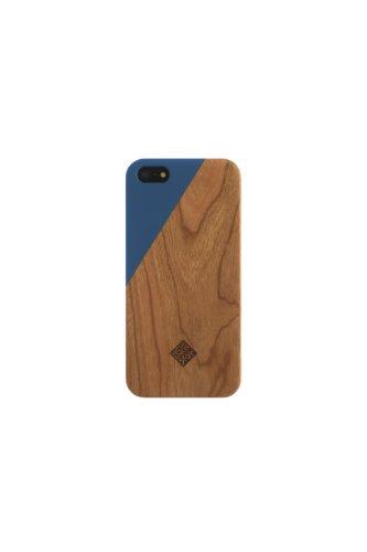 Great Sale Clic Wooden iPhone 5 / 5s Case - Aquamarine / Wood