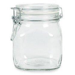 Bormioli Rocco Fido Glass Canning Jar Italian - .75 (3/4) Liter