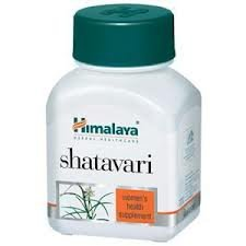 Himalaya Shatavari 4 Packs of 60 Capsules Free