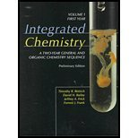 img - for Integrated Chemistry: A Two-year General And Organic Chemistry Sequence, Preliminary Edition: Volume 1, First Year book / textbook / text book