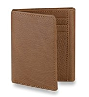 Luxury Leather Tri-Fold Wallet