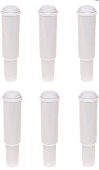 Generic White Replacement Filter for use in Jura Espresso Machines-Set of 6