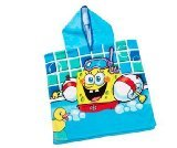 SpongeBob Hooded Poncho Bath / Beach Towel - 1