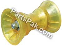 YELLOW ROLLER Assembly. 3""