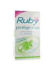 Ruby Panty-Liners x30