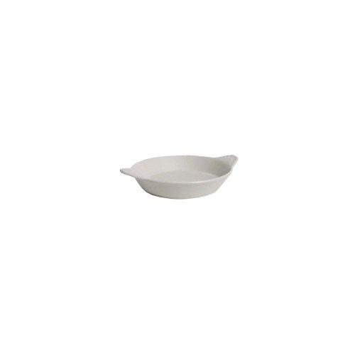 Tuxton Ben-0902 9 Oz. Round Eggshell Shirred Egg Dish - 12 / Cs