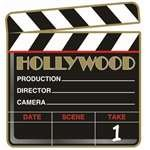 Hollywood Clapboard Cutout - 1