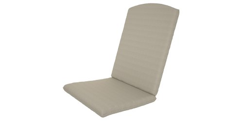 Trex Outdoor Furniture Yacht Club Folding Highback Chair Full Cushion, Bird'S Eye