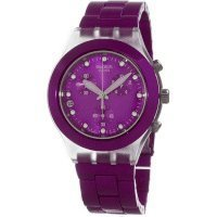 Swatch Full Blooded Blueberry Unisex Watch SVCK4048AG