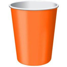 Orange Peel 9oz Paper Cups (20ct)