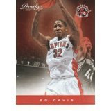 2012-13 Ed Davis #33 Prestige Basketball Card