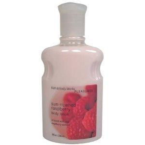 Bath & Body Works Pleasures Classics Sun Ripened Raspberry Body Lotion 8 Oz